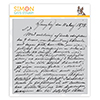 Simon Says Cling Stamp Old Letter