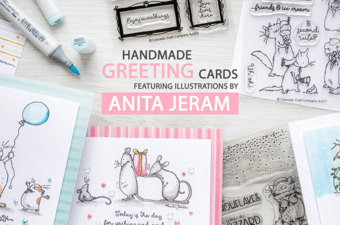 Colorado Craft Company | Handmade Greeting Cards with Illustrations by Anita Jeram. Video + Giveaway