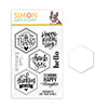 Simon Says Stamps and Dies Hexagon Greetings