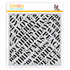 Simon Says Cling Stamp Holiday Words Background