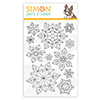 Simon Says Clear Stamps Prismatic Snowflakes