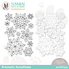 Simon Says Stamps and Dies Prismatic Snowflakes