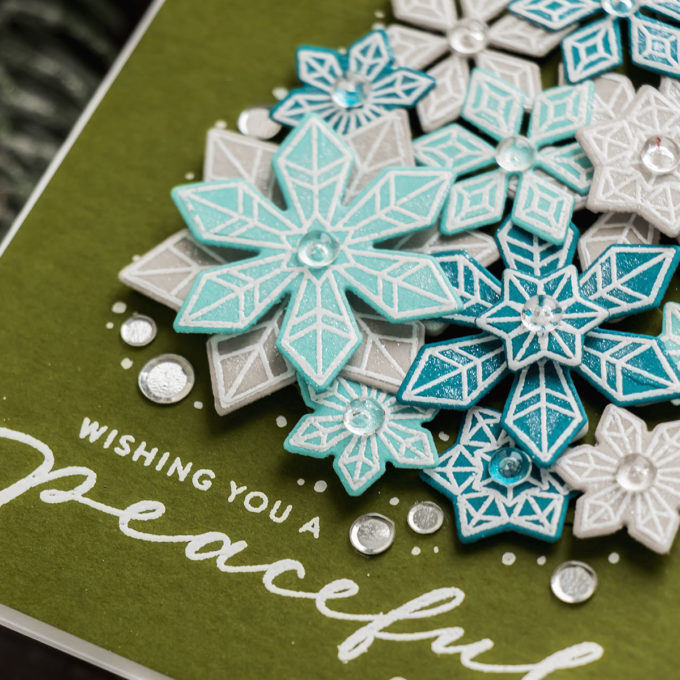 Simon Says Stamp | Stretch Your Stash - Snowflake Christmas Tree Card. Video