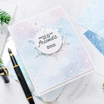 Simon Says Stamp | January 2021 Card Kit - Snowflake Cards