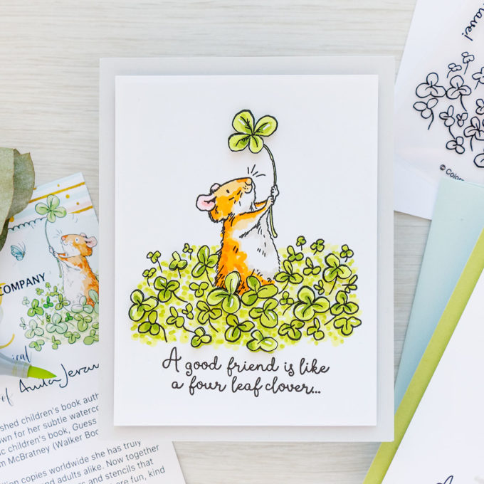 Colorado Craft Company | January 2021 Anita Jeram Greeting Cards | Dimensional Spotlight Technique | Video