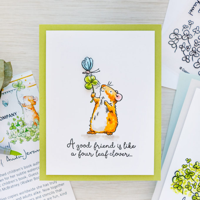 Colorado Craft Company | January 2021 Anita Jeram Greeting Cards | Dimensional Spotlight Technique | Video