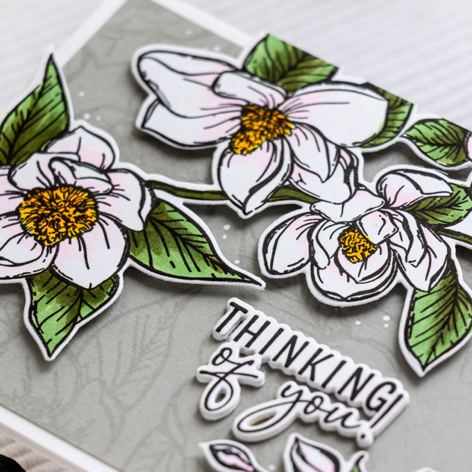 Colorado Craft Company | Slimline Floral Cards | Video + Giveaway