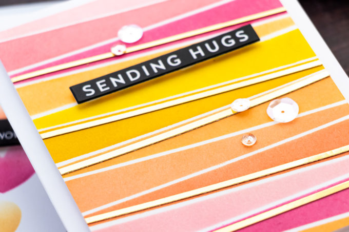 Colorful Stenciled Card Ideas - Video Tutorial