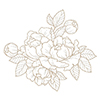 Spellbinders Glimmering Peony Glimmer