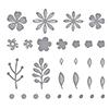 Spellbinders Mini Blooms and Sprigs