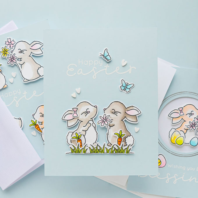 Simon Says Stamp | Hand Made Easter Card Ideas | Video Tutorial