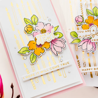 Best Cardstock & Acetate for Hot Foil Stamping. Video