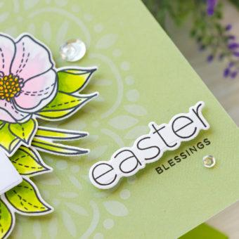 Simon Says Stamp | Easter Greetings A2 Card