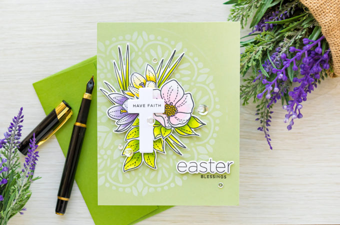 Simon Says Stamp | Easter Greetings A2 Card
