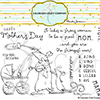 Anita Jeram Amazing Mom Stamps