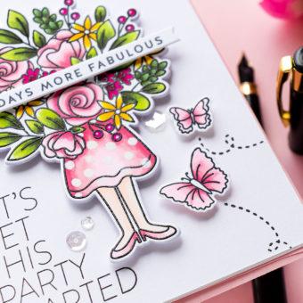 Simon Says Stamp | 365 Days More Fabulous - Birthday Card