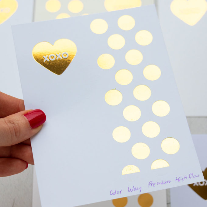Best Cardstock for Hot Foil Stamping | Video