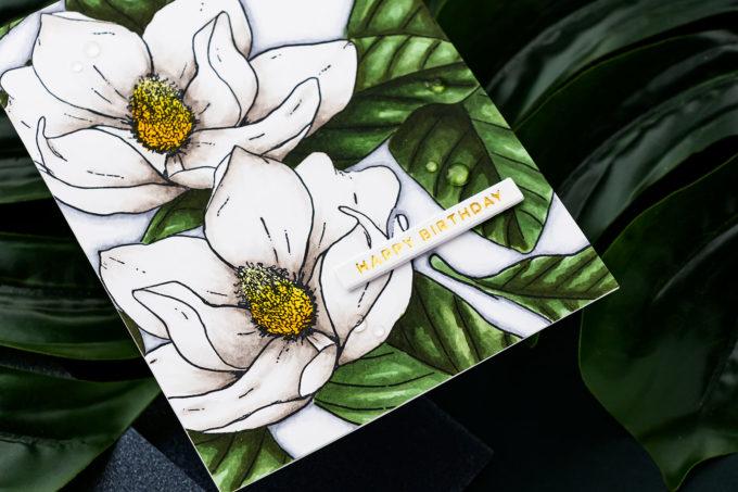 Simon Says Stamp | Jumbo Magnolia Card