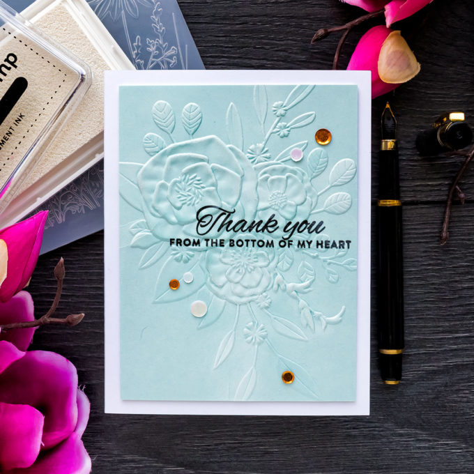 Simon Says Stamp | 3D Embossed Greeting Cards. Blog Hop + Giveaway