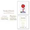 Spellbinders Gifts of Christmas Sentiments Glimmer Hot Foil Plate
