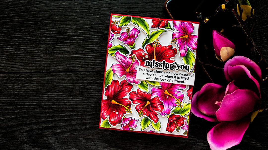Simon Says Stamp | Blooming Hibiscus Pattern | Video