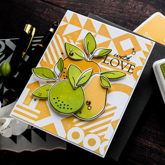 Simon Says Stamp | Organic Fruits