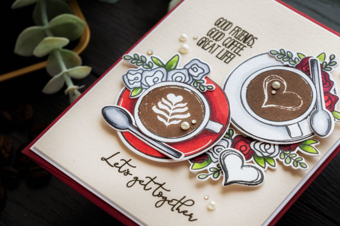 Simon Says Stamp | Cup of Love Card featuring CUP OF LOVE sss302336c #simonsaysstamp #cardmaking