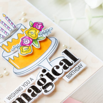 Simon Says Stamp   Magical Birthday Card featuring Simon Says Stamp DO WHAT IT CAKES sss202315c #simonsaysstamp #sssmakemagic