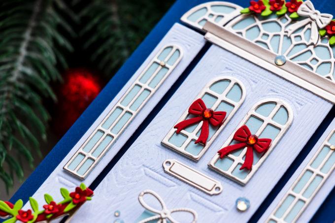 Spellbinders | It's a Christmas Season - Spellbinders Open House Die-Cut Christmas Card. Video