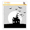 Simon Says Cling Stamp Spooky Silhouette Background