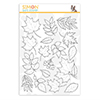 Simon Says Clear Stamps Autumn Leaves