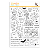 Simon Says Clear Stamps the Boo Crew