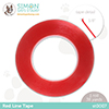 Simon Says Stamp Red Line Tape 1/8 Inch