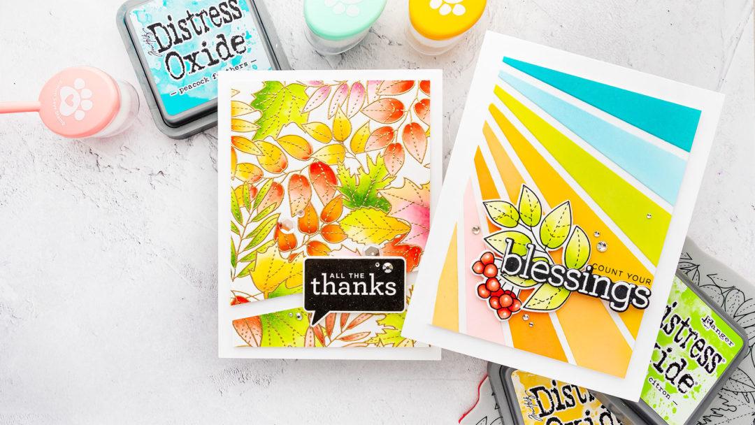 Simon Says Stamp | My Fave Copic Combos + Bonus Card Idea | Video
