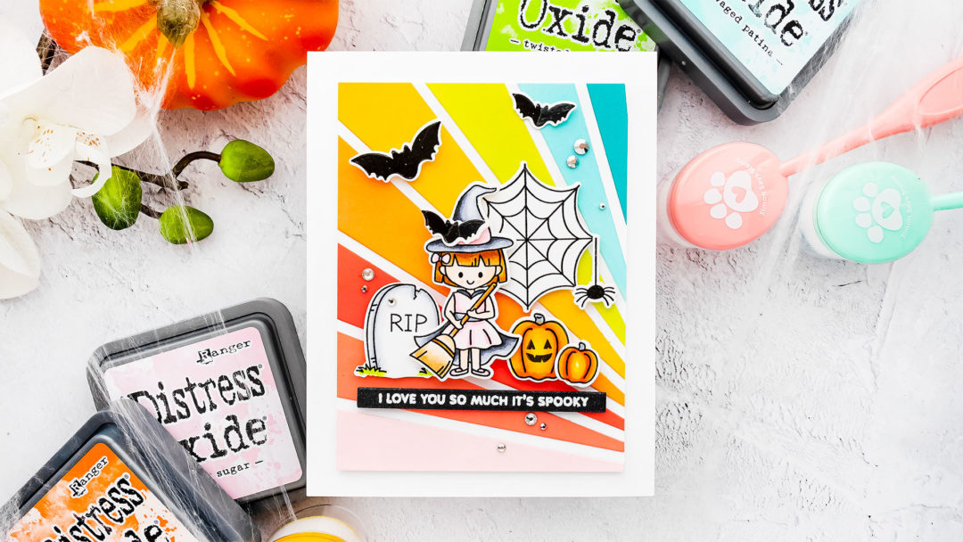Simon Says Stamp | I Love You So Much It's Spooky - Halloween Card by Yana Smakula
