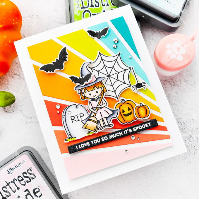 Simon Says Stamp   I Love You So Much It's Spooky - Halloween Card by Yana Smakula