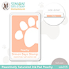Simon Says Stamp Pawsitively Saturated Ink Pad Peachy