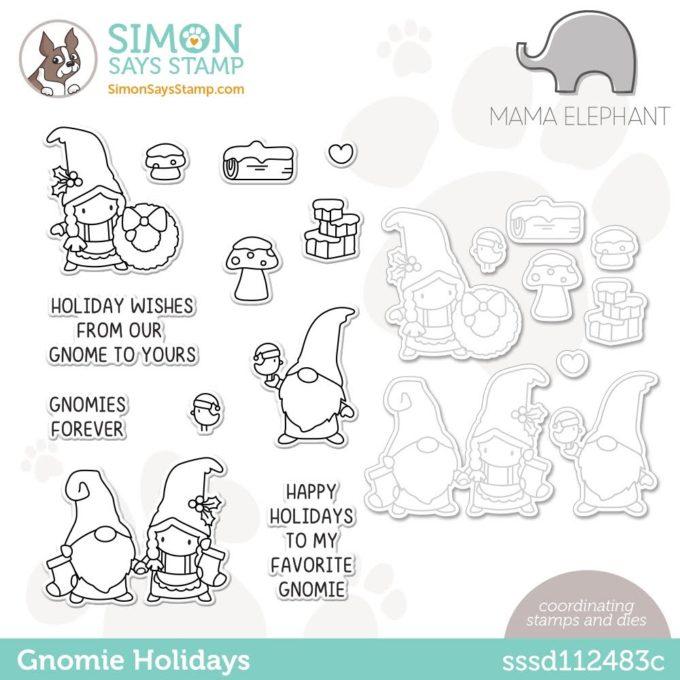 It's STAMPtember! Mama Elephant - Gnomie Holidays