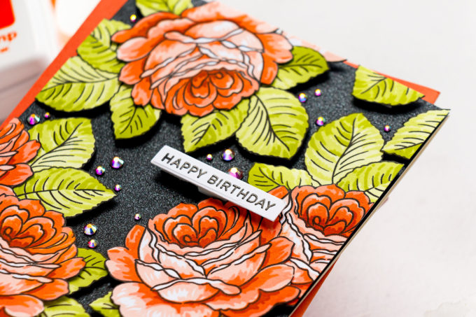 It's STAMPtember! Altenew - From The Rose Bush