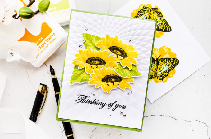 It's STAMPtember! Kitchen Sink Stamps - Ray of Sunshine
