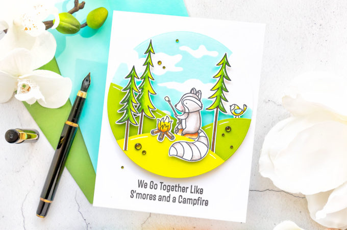 It's STAMPtember! MFT Stamps Time to Unwind | Video
