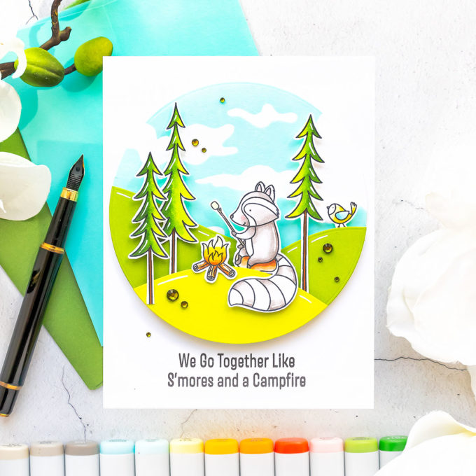 It's STAMPtember! MFT Stamps Time to Unwind   Video