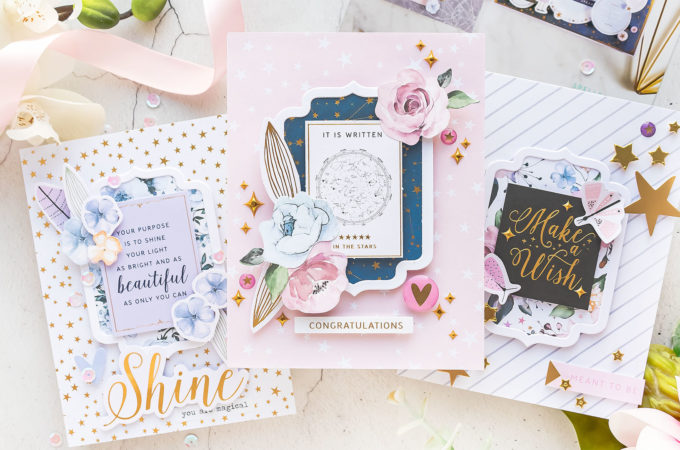 Spellbinders | 1 Kit - 5 Cards - October'21 Card Kit of the Month