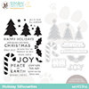 Cz Design Stamps and Dies Holiday Silhouettes