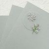 """Spellbinders Brushed Silver Cardstock 8 1/2"""" x 11"""