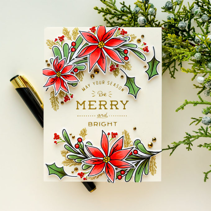Simon Says Stamp | Holiday Sprigs & Foiling. Video
