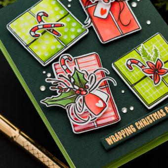 Simon Says Stamp | Wrapping Christmas Cheer - Gift Wrap Card